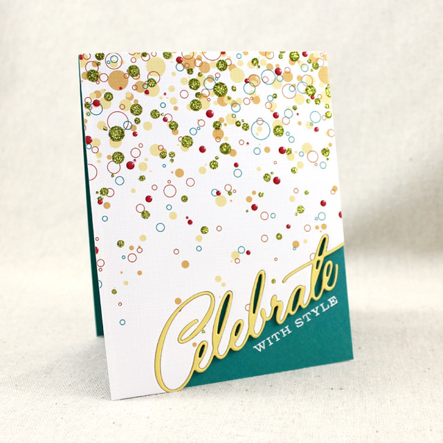 Celebrate With Style Card