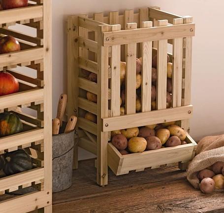Як зберігати картоплю в квартирі