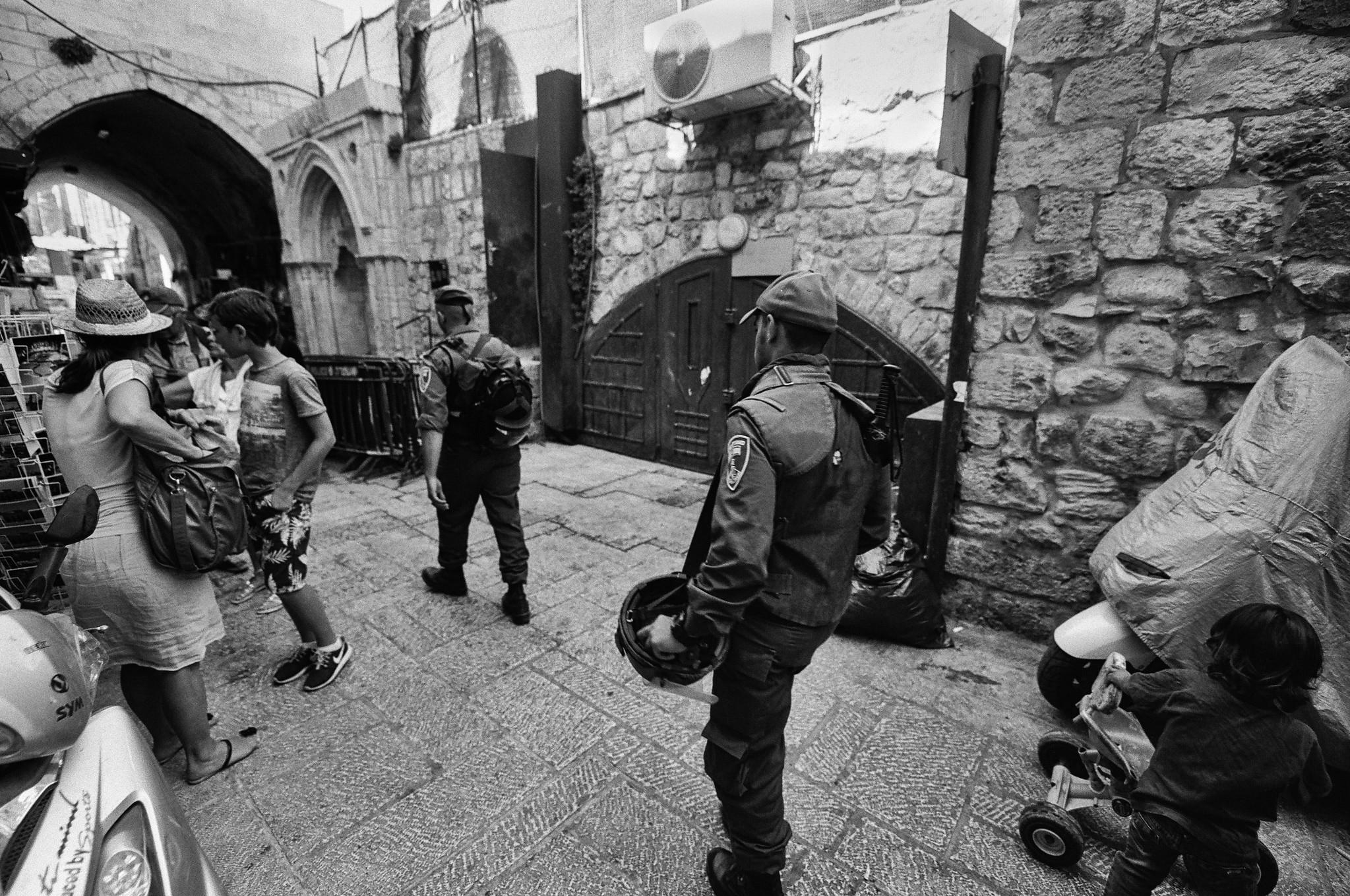 Old City IDF Patrol
