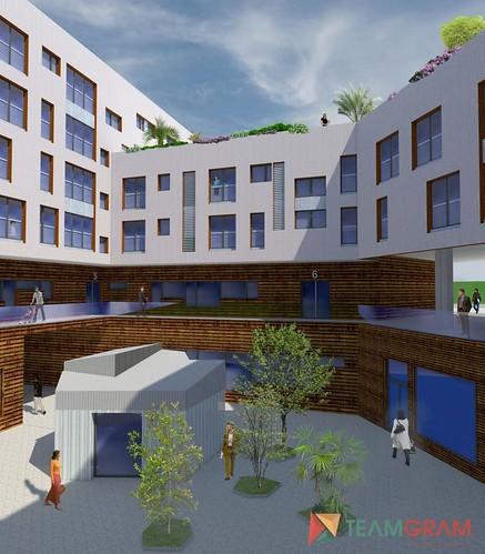 2.800 optan a las 70 viviendas sociales de la calle Alta
