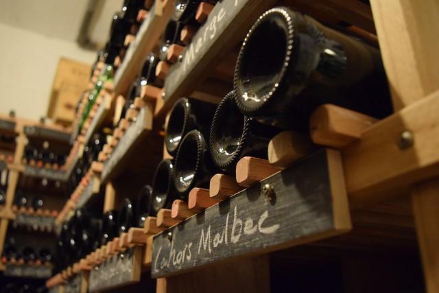 Wine Cellar at Ballymaloe House