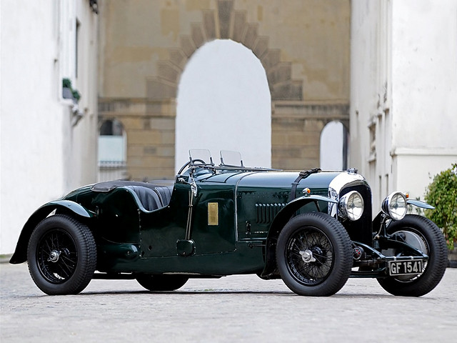 Bentley 4 ½ Litre Short Chassis 2-seater 1930 года