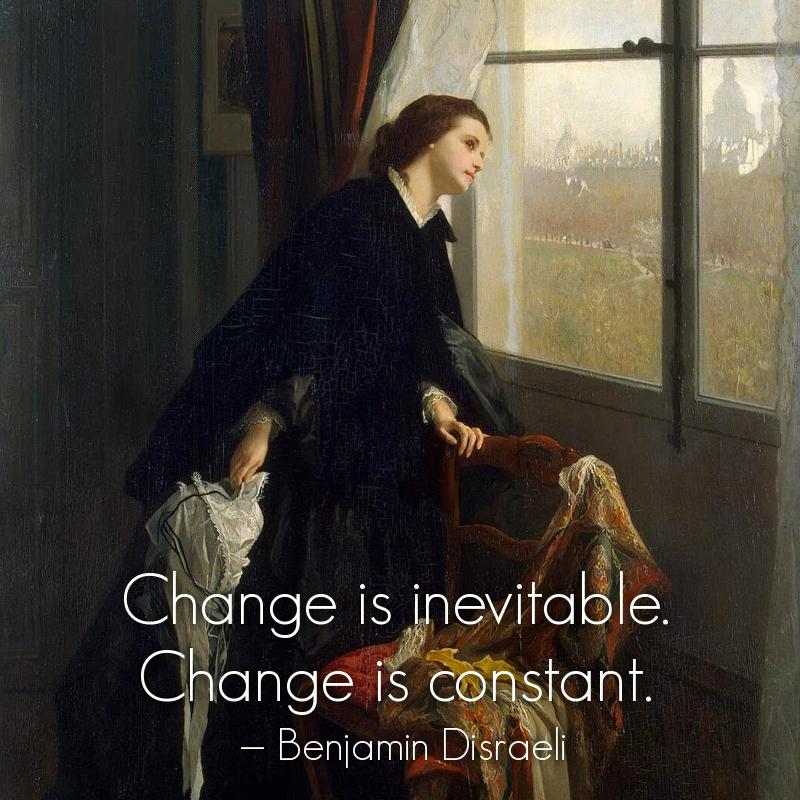 Changeable Weather by Gustave Léonard de Jonghe