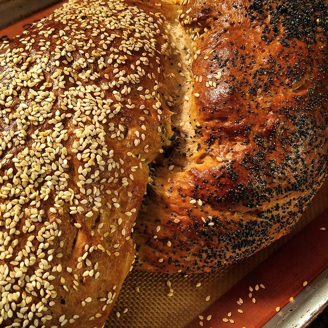 Two Seed Potato Challah