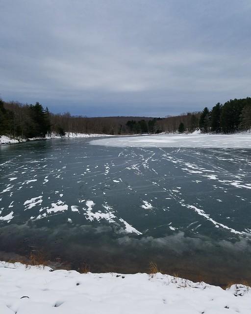 Parker Dam Lake