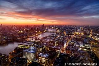 Image of Sky Garden. london sunset stpaulscathedral riverthames rivee england greatbritain