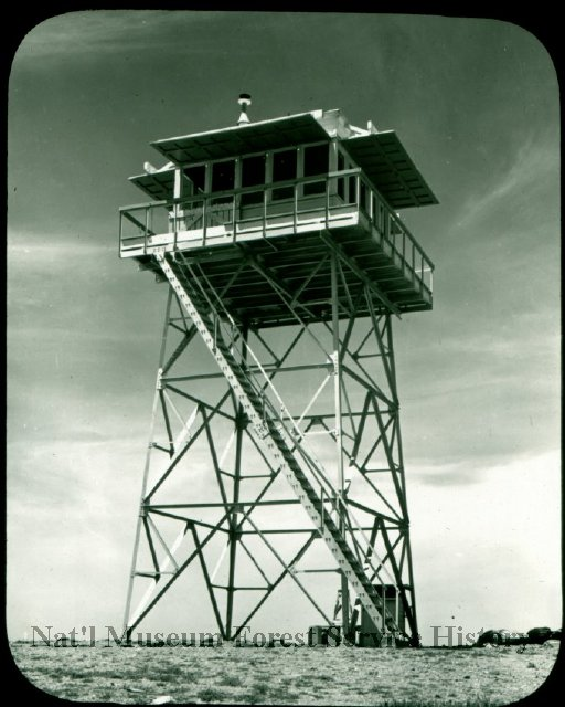 Sierra Pelona Lookout circa 1925