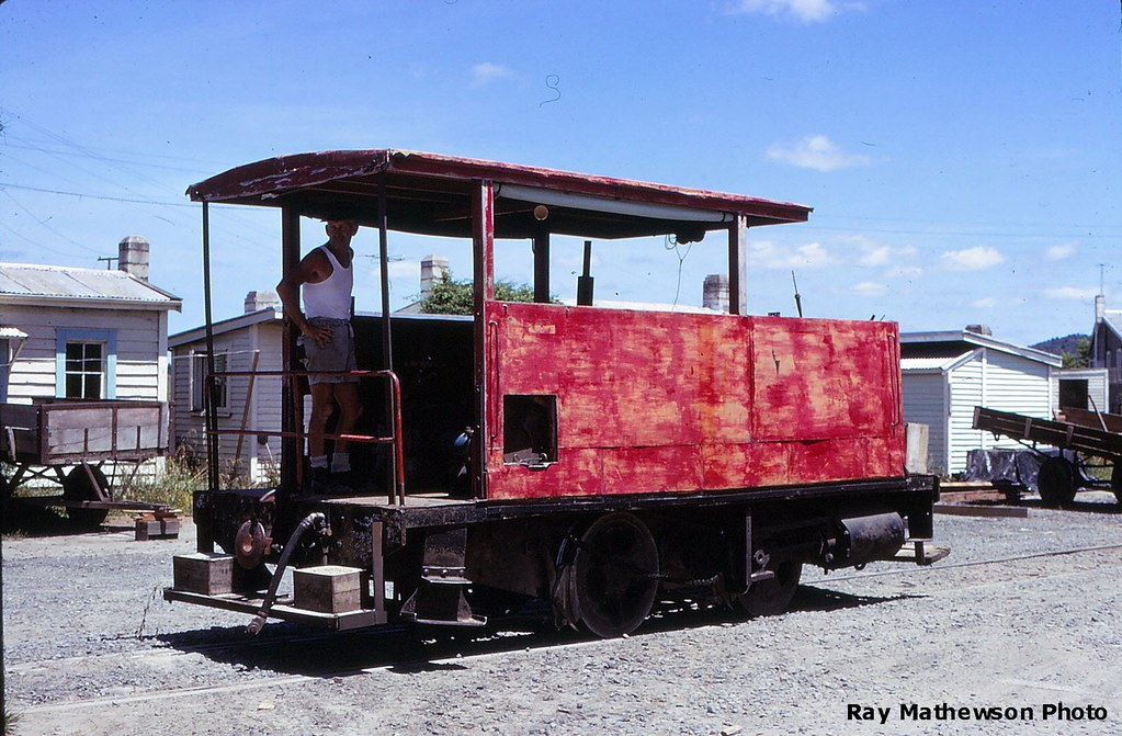Taringamutu Tram -  Fordson powered  ex Barclay 0-4-0