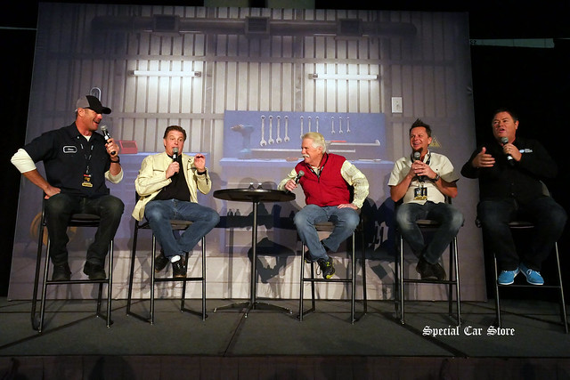 Velocity Channel: Mike Brewer, Wayne Carini, Chip Foose, Chris Jacobs, Mike Phillips and Dave Kindig