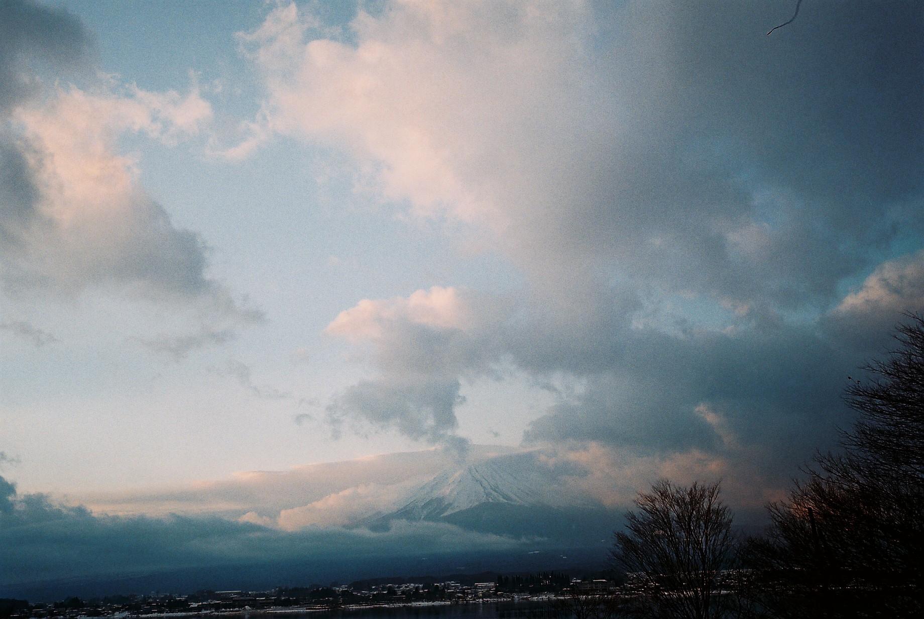 傳說中的富士山