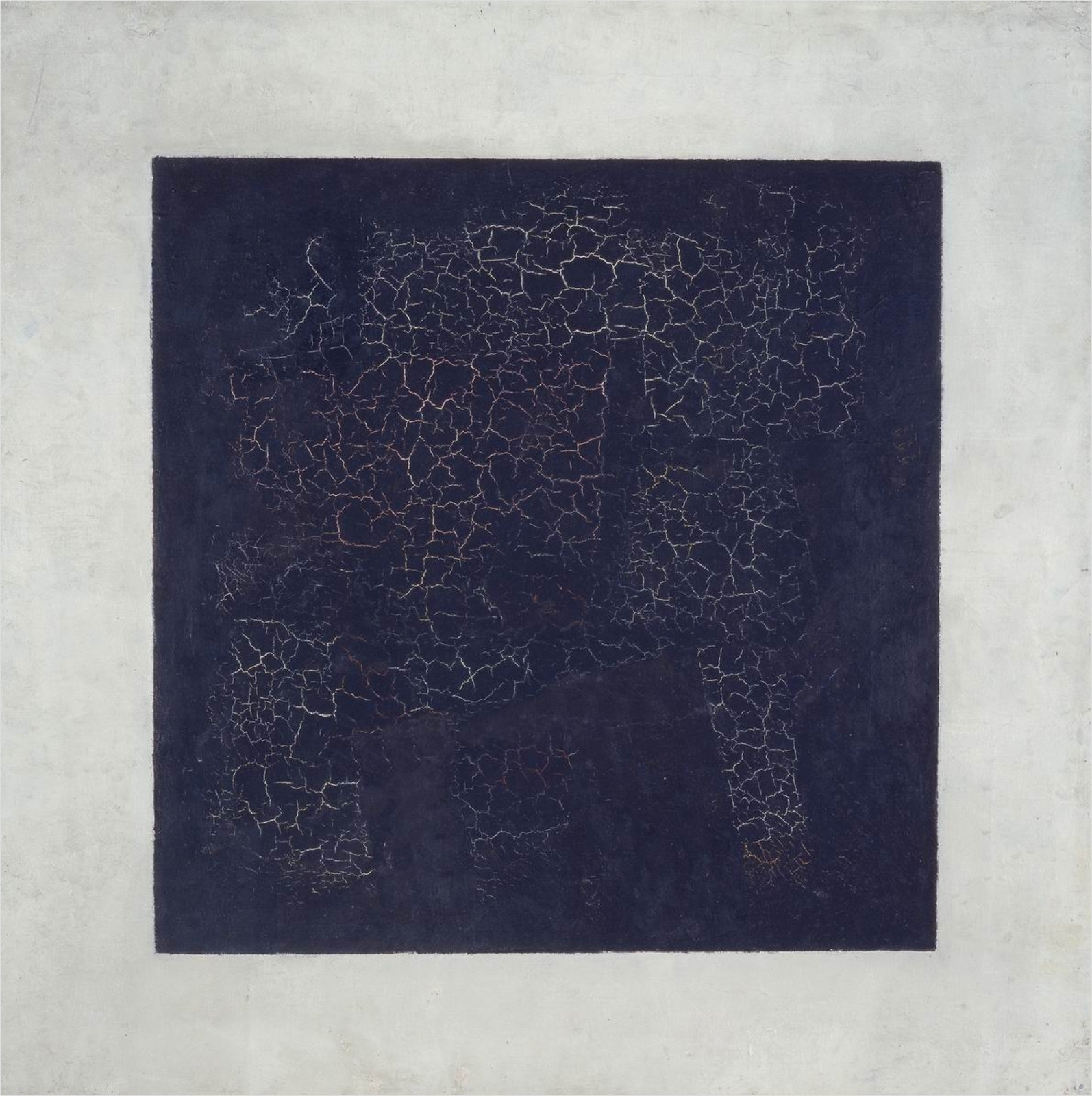 The Black Square by Kazimir Malevich, 1915