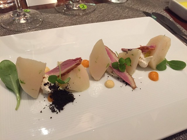 第三道菜:無花果與鵝肝