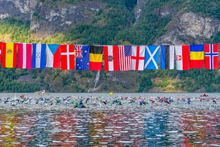 AXTRI 2015 Swim leg