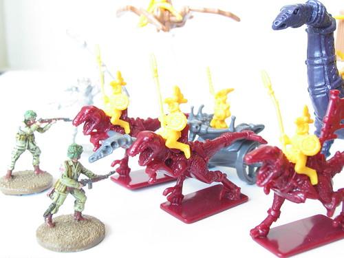 zdjęcia Schlacht Dinozaurow 20 mm 1-72