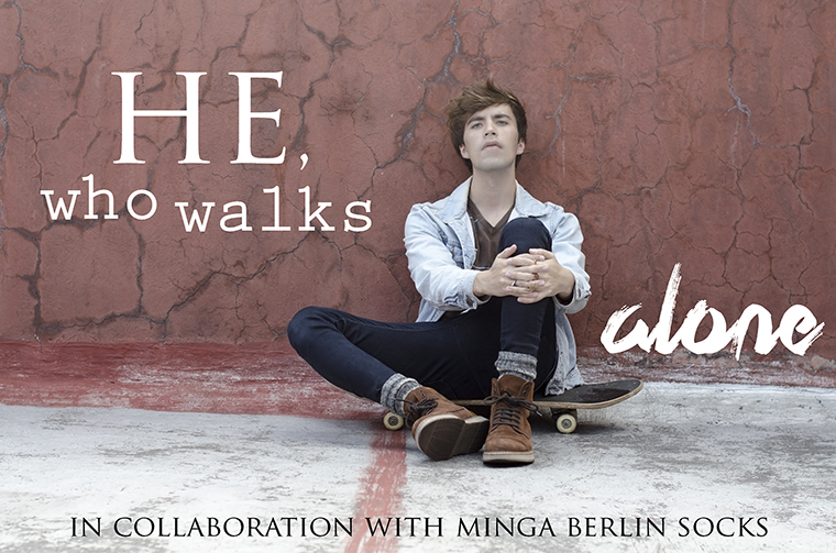He who walks alone Minga Berlin Socks Review