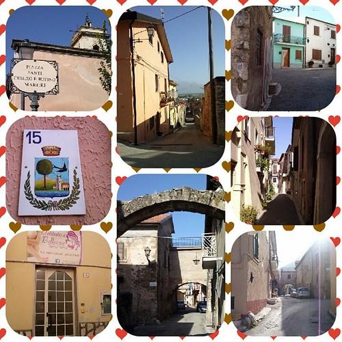 #Borgo #borgovecchio #borgoantico #borgomedioevale #castelluccio #strade #vicoli #trasacco #marsica #cartolina