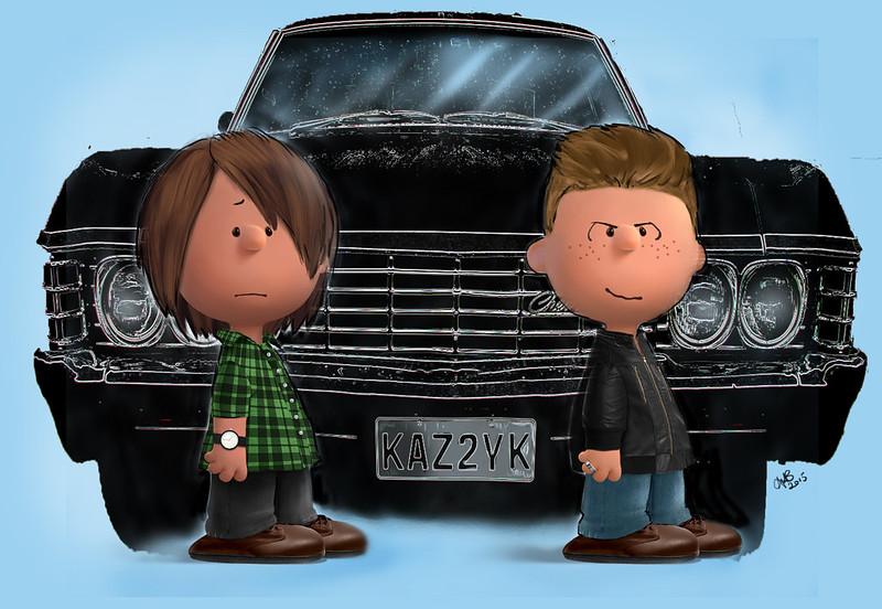 peanut Sam & Dean