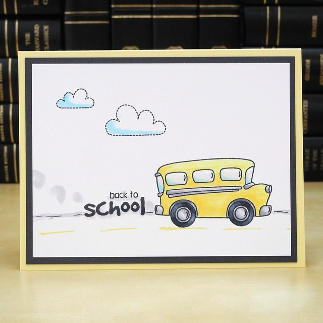 Back to School by Jennifer Ingle #JustJingle @SimonSaysStamp #BackToSchool #Cards