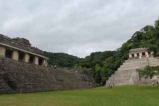 The Palace of Pakal and the Temple of Inscriptions