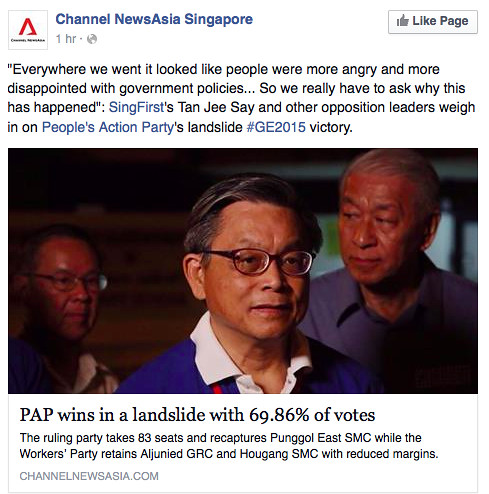 SingFirst's Tan Jee Say on Channel NewsAsia Singapore