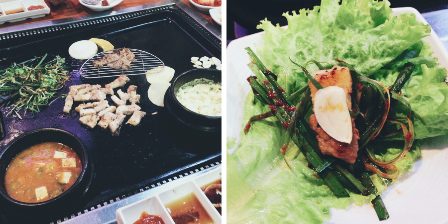 Korean barbecue at Go!Kizip | chainyan.co