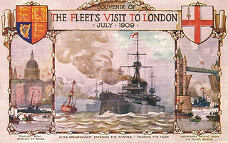The Fleet's visit to London
