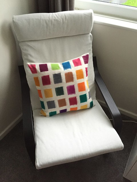 Colour-Block Cushion Covers