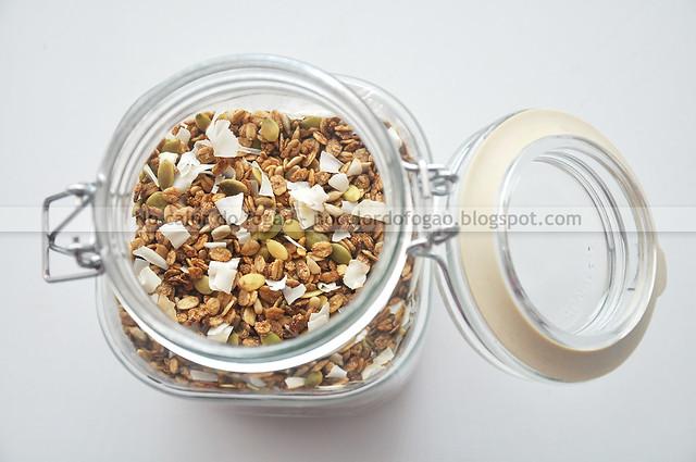Stovetop granola (no pote)