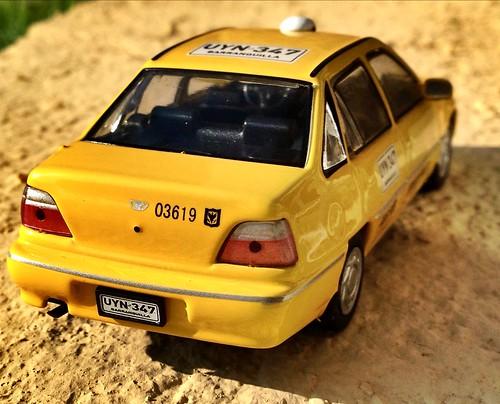 Ixo 1:43 - Daewoo Cielo Taxi, Barranquilla (Los Carros Más Queridos de Colombia 2)