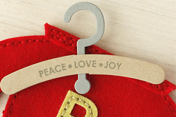 Add a Stamped Message to Your Softie Hanger