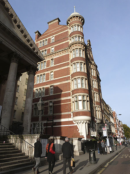 immeuble Bloomsbury