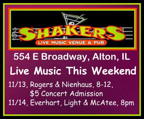 Shakers 11-13-15