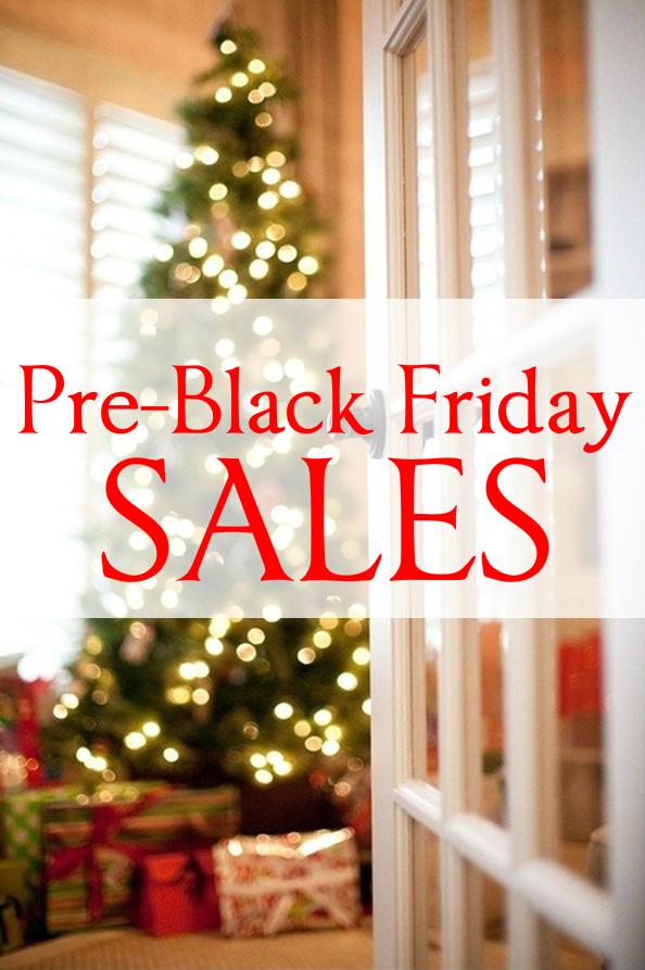 Pre-Black Friday Sales