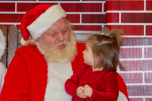 Talking to Santa