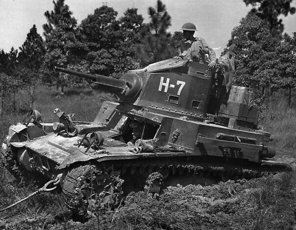 Αμερικανική M2A4 φως δεξαμενή