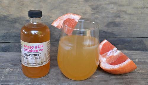 柚子鼠尾草鸡尾酒
