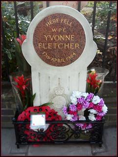Yvonne Fletcher 的形象. london memorial metropolitanpolice wpc stjamessquare libyanembassy yvonnefletcher