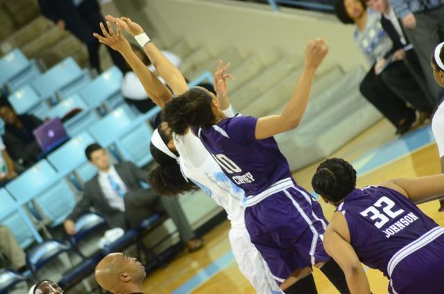 basketball: northwestern @ unc
