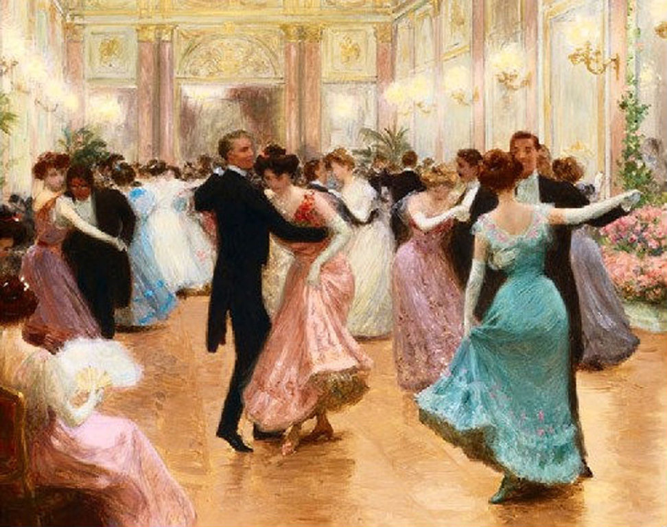 Elegant Soiree by Jean-Georges Béraud