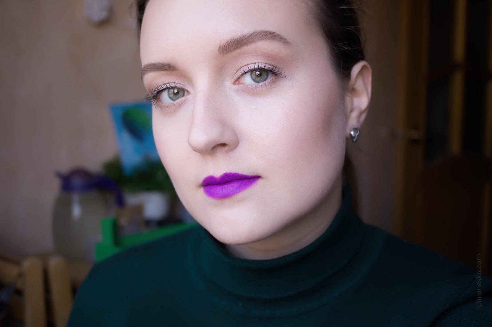 Kiko Milano Velvet Passion Matte Lipstick Crazy Colours 321 Orchid Violet