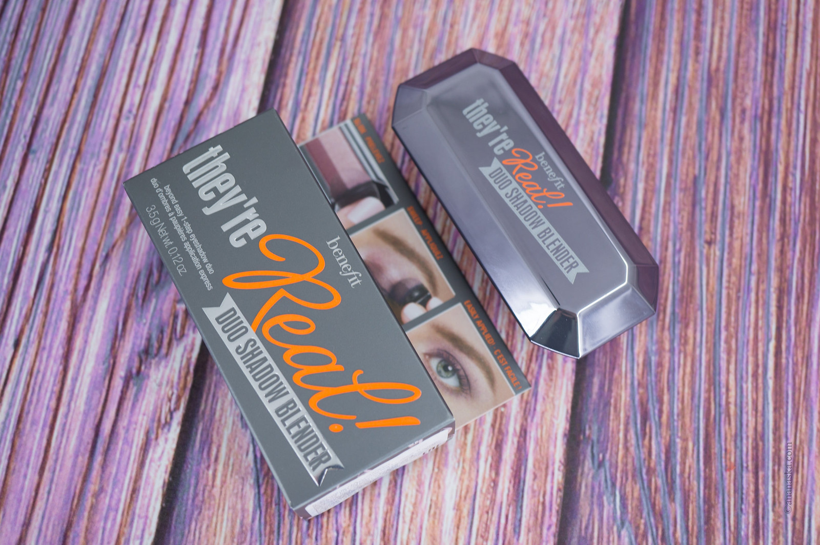 Benefit They're REAL Duo Shadow Blender #Provocative Plum