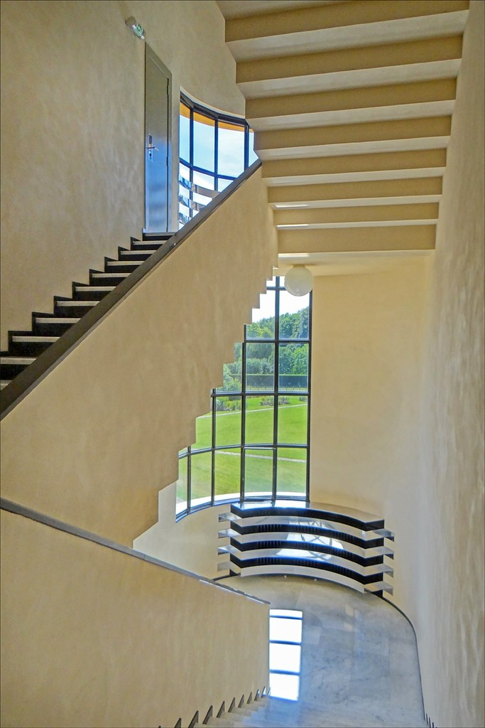 L U0026 39 Escalier  Villa Cavrois  Croix