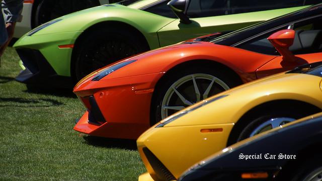 Lamborghini at Concorso Italiano 2015