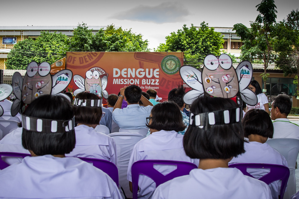 Dengue Mission Buzz in Thailand