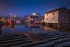 Foggy Harbour by dan sedran