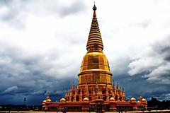 Wat Huay Tom วัดพระพุทธบาทห้วยต้ม