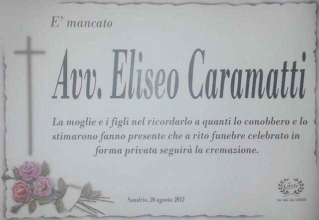 Avv. Eliseo Caramatti