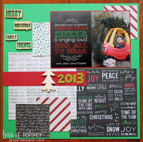 Christmas Card SB 2013