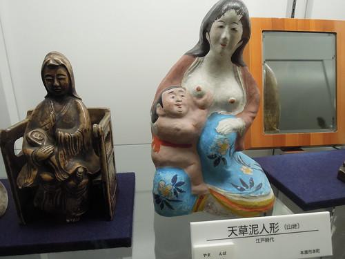 天草ロザリオ館のマリア様