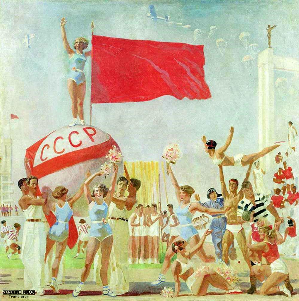 苏联20、30年代各类宣传画31